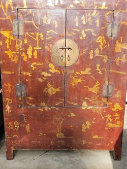 Asian/ Chinese Armoire Or Cabinet for Sale in Vista,  CA