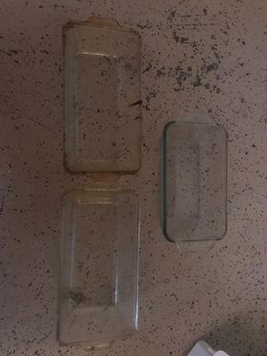3 rectangle Pyrex for Sale in Federal Way, WA