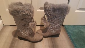 Gray sequence boots for Sale in Columbus, OH