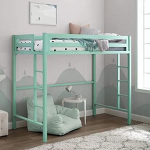 Metal Twin Loft Bunk Kids - Mint for Sale in New York, NY