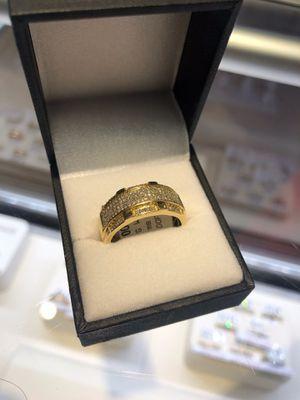 10K DIAMOND MENS RING ($46 TO OUT ON LAYAWAY)ASK FOR KEEKEE for Sale in Charlotte, NC