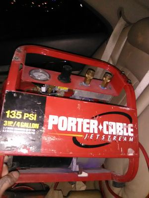 Porter Cable air compressor, Stihl br550 backpack blower.. for Sale in Bristow, VA