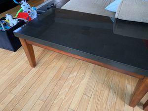 Black Granite Top Coffee Table. for Sale in Chicago, IL