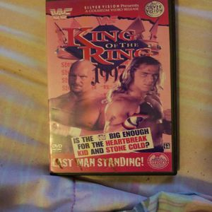 Wwf King of The Ring 1997 Dvd for Sale in Chicago, IL