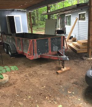 Double axle 15.2 x 5.8' trailer. $1,000.00 for Sale in Sandy, OR