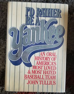 I'd Rather Be A Yankee Hardback Book Pre-Owned for Sale in Baltimore, MD