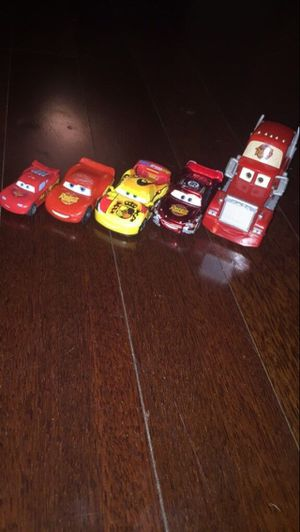 Toy cars lightning McQueen kids t shirt hoodie dolls sweater jacket leggings jeans shorts lounge chair couch sofa recliner mirror painting plants for Sale in Tampa, FL