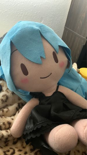Hatsune miku (deep sea girl)plushy for Sale in Mesa, AZ