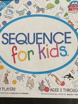 Sequence Game For Kids for Sale in Fort Lauderdale,  FL