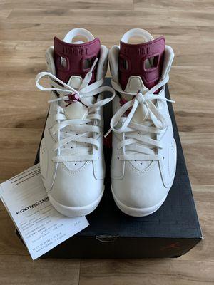 Air Jordan Retro 6 'Maroon' Size 8 for Sale in Kent, WA
