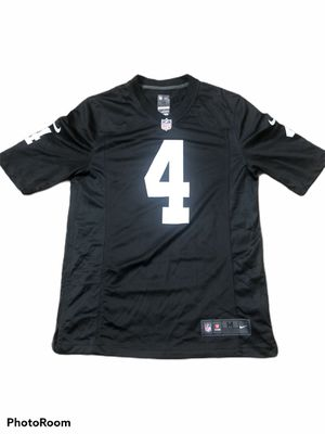 Nike Raiders Carr Size Medium NFL Jersey for Sale in Manteca, CA