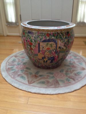 Oriental porcelain planter for Sale in Olney, MD