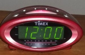 Timex Alarm/Radio clock $5 for Sale in Roanoke, VA