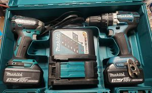 Makita 18v LXT Brushless hammer drill and impact for Sale in LONG BEACH, CA