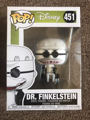 Funko Pop Disney Nightmare Before Christmas Dr Finkelstein for Sale in Renton, WA