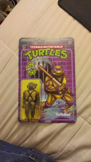 Teenage Mutant Ninja Turtles ReAction Figure - Donatello for Sale in Romoland, CA