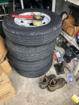 Trailer wheels and tires 5lug for Sale in Parkland, FL