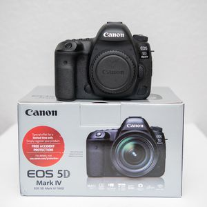 Canon 5D Mark iv for Sale in Garland, TX