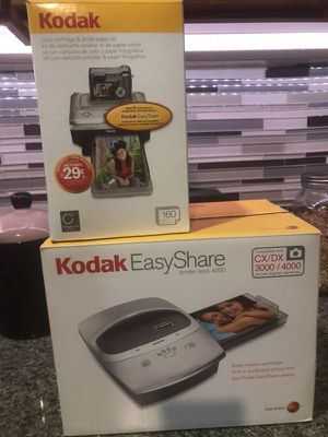 Kodak EX Share printer dock and color cartridges for Sale in San Francisco, CA