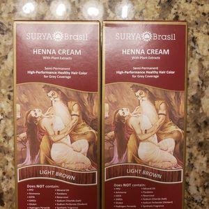 Surya Brasil henna hair color cream for Sale in Scottsdale, AZ