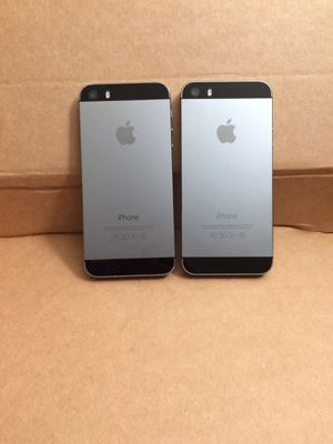iPhone 5S 16gb unlocked for any carrier $140 both,$70 each firm no trade for Sale in Sacramento, CA