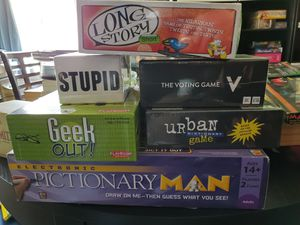 Board games! Barely used or new for Sale in Lakewood, CA