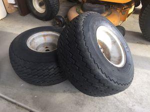 Lawn mower tracker tires for Sale in Kennewick, WA