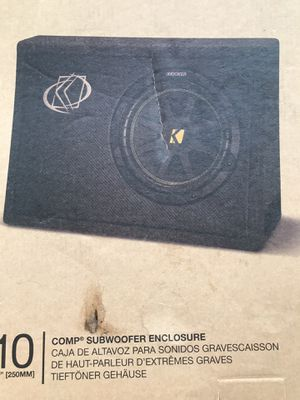 Kicker 10 inch subwoofer Model # 10TC104 Brand new in the box sealed for Sale in Hialeah, FL