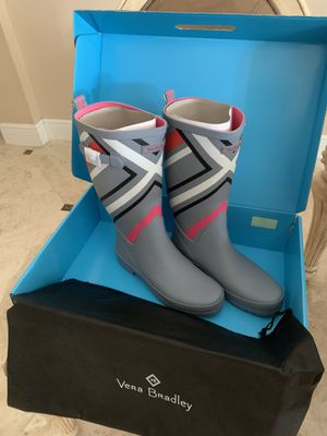 Vera Bradley Rain Boots New in Box for Sale in Oviedo, FL