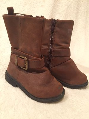Sz 5 Girl Brown Boots for Sale in Bountiful, UT