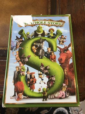 Shrek 4 disc dvd set for Sale in Canton, GA
