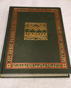 J R R Tolkien Lord of the Rings -The Hobbit - Leather Book VGC for Sale in Goodyear, AZ