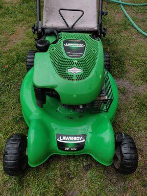 Heavy duty Lawn-Boy 20 inch lawn mower with 6.50 horsepower Briggs & Stratton engine for Sale in Tacoma, WA