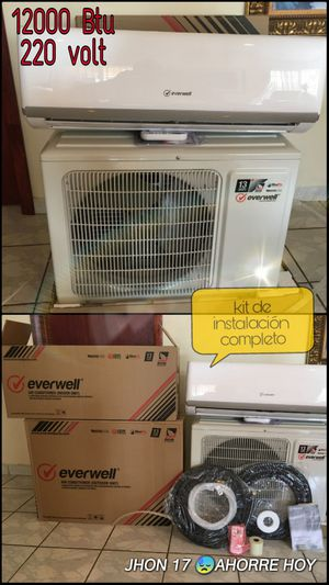 😓Air conditioner AC Split Minisplit Mini split Brackets 110 - 220 volt♻️ 18000 12000 BTU o 1 tonelada 🇺🇸 for Sale in Hialeah, FL