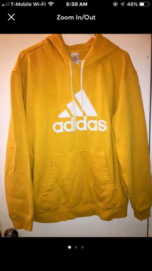 Yellow Adidas Hoodie for Sale in Vancouver, WA