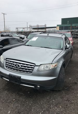 Selling parts for a gray 2008 Infiniti FX series STK#1029 for Sale in Detroit, MI