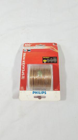 100ft Philips 24 Gauge Speaker Wire ~ 100 Feet for Tuner Amplifier for Sale in Winter Springs, FL