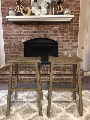 BRAND NEW OUT OF THE BOX, NEVER USED SET of 2 Barstools. ((READ DESCRIPTION BELOW)) for Sale in Grand Prairie, TX