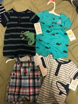 New Carters Newborn Spring/Summer Outfits for Sale in Woodinville, WA