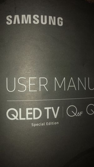 """Qled Samsung tv 55"""" for Sale in Madras, OR"""