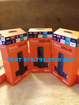 4K HDR Amazon Fire TV stick / Loaded for Sale in Conley, GA