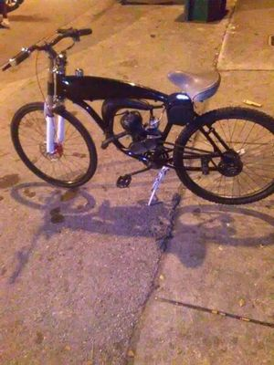 2 stroke gas frame motorized bicycle for Sale in Miami, FL