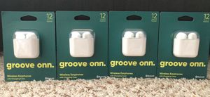 Wireless Earbuds with Charging Case for Sale in Canton, MI