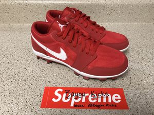 Size 9 Men's Air Jordan 1 retro low cleat | BRAND NEW for Sale in Houston, TX