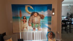 Moana backdrop birthday package for Sale in Kissimmee, FL