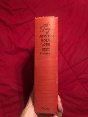 A Treasury of Jewish Folklore Book for Sale in Walnut, CA