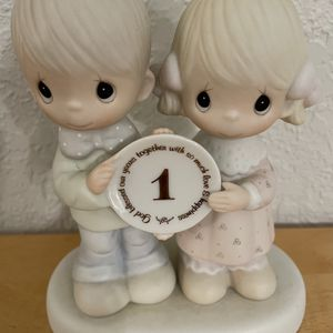 PRECIOUS MOMENTS 1 YEAR ANNIVERSARY FIGURINE VINTAGE 1983 for Sale in Port Canaveral, FL