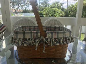 Longaberger Basket for Sale in DAYT BCH SH, FL