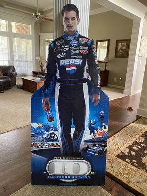 Pepsi Jeff Gordon Life Size Stand Up for Sale in Lindale, TX
