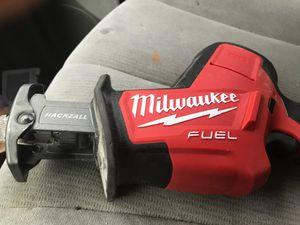 18v Milwaukee fuel hacksaw for Sale in Mesa, AZ
